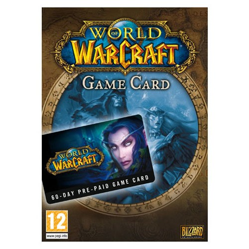 World of Warcraft Prepaid Card 60 dní
