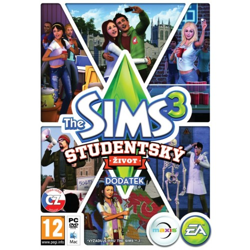 The Sims 3 Študentský život