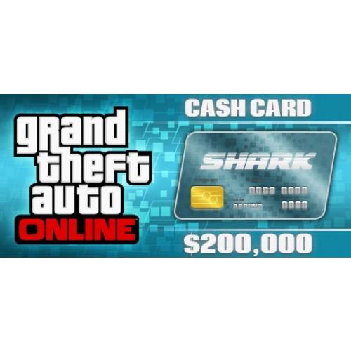 GTA 5 Online Tiger Shark Cash Card 200,000$