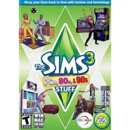 The Sims 3 Štýl 70. 80. a 90 rokov