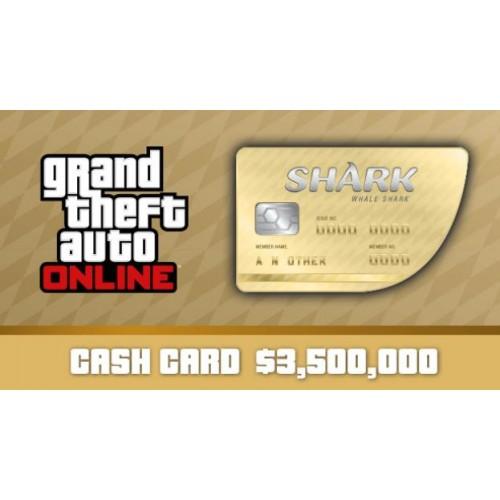 GTA 5 Online Whale Shark Cash Card 3,500,000