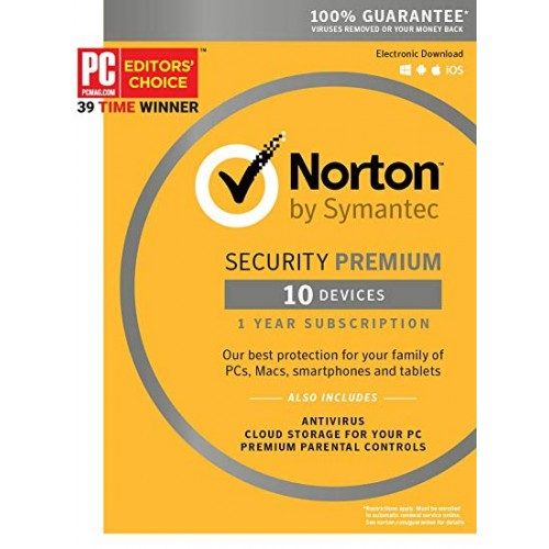 Symantec NORTON SECURITY PREMIUM 3.0 25GB 1 lic. 12 mes.