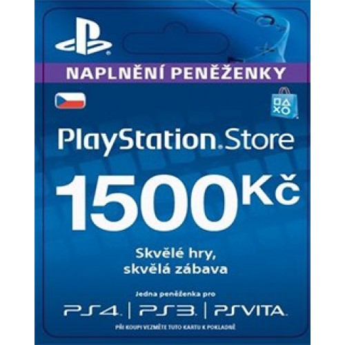 PlayStation Live Cards 1500Kč