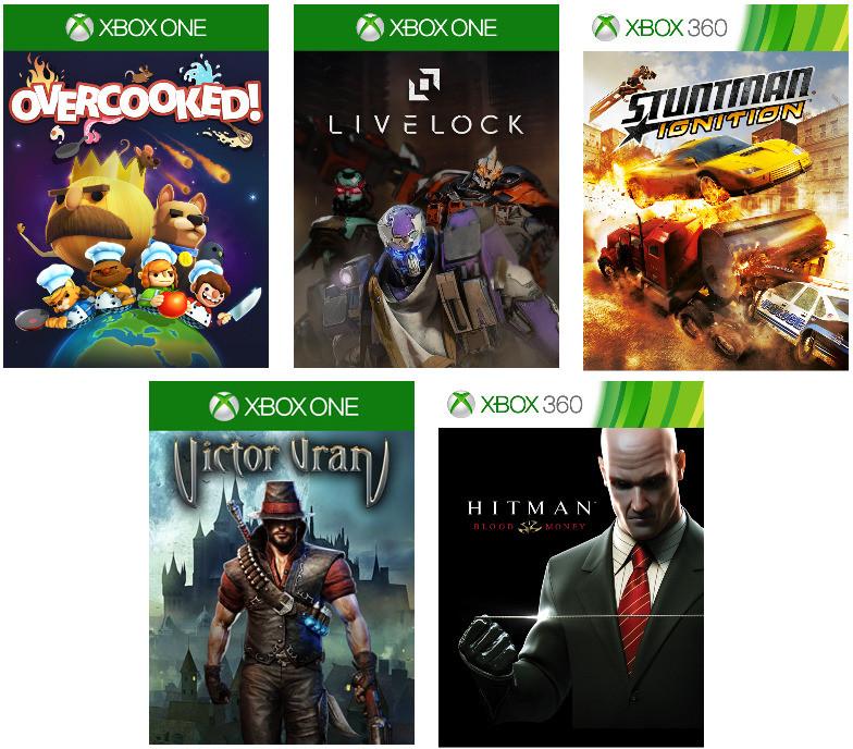 Xbox Live Gold: Zadarmo hry pre Október