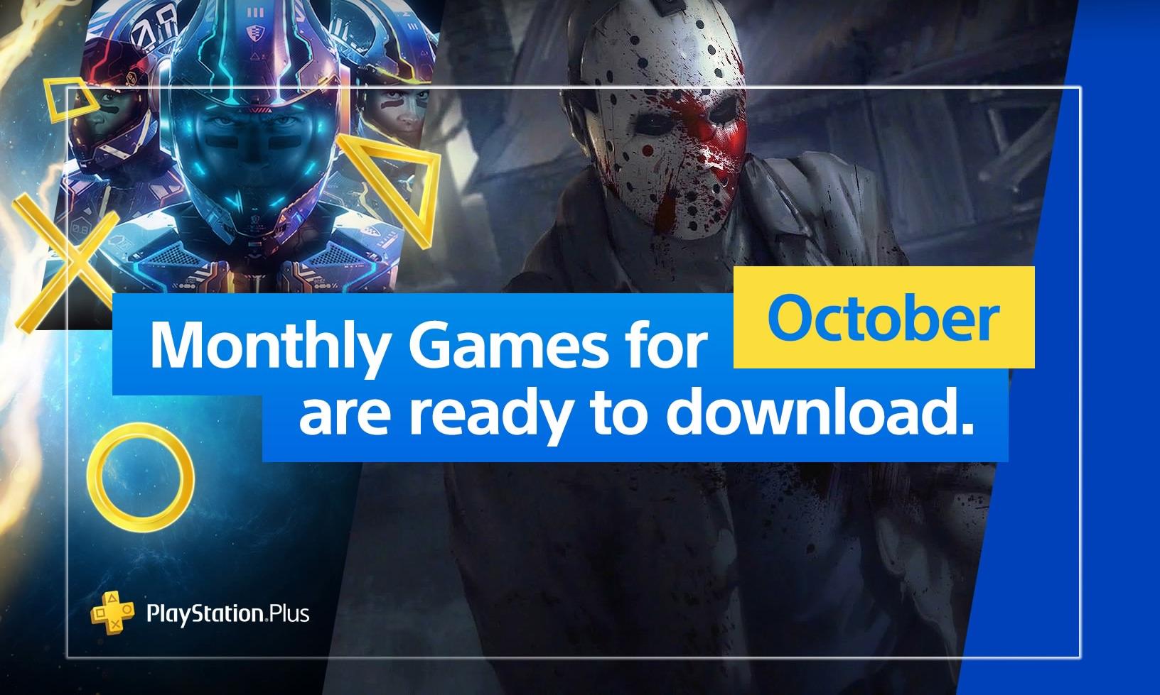 PlayStation Plus: Zadarmo hry pre Október