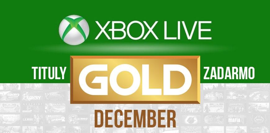 Xbox Live Gold: nové hry pre December