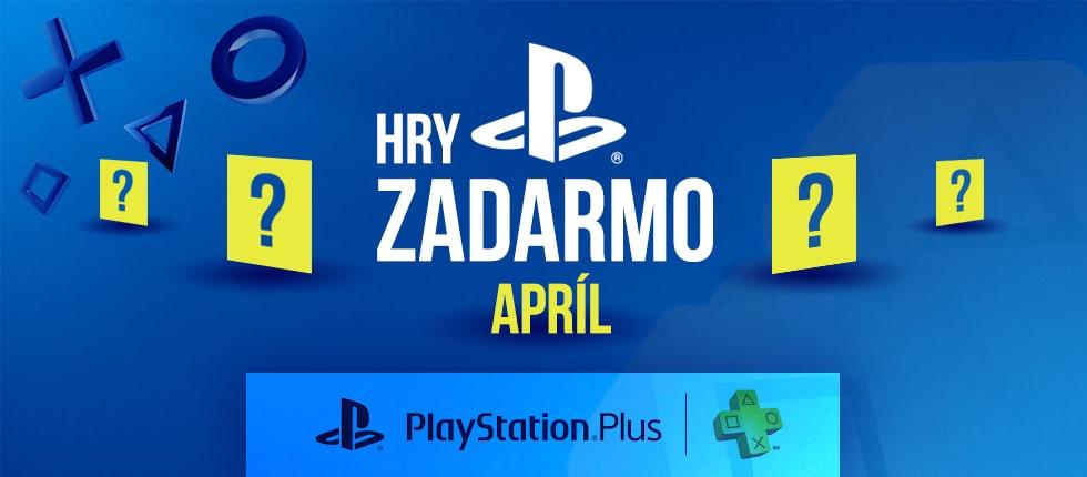 PS Plus Apríl: hry zadarmo