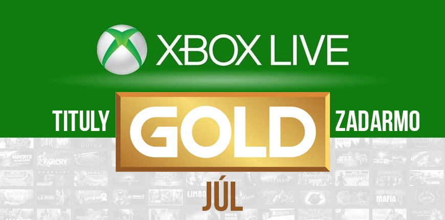Júlove bezplatné Xbox Live Gold hry