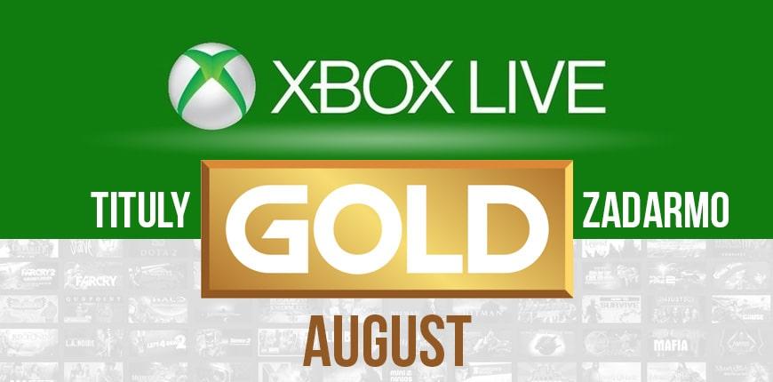 Xbox Live Gold - Augustové hry zadarmo