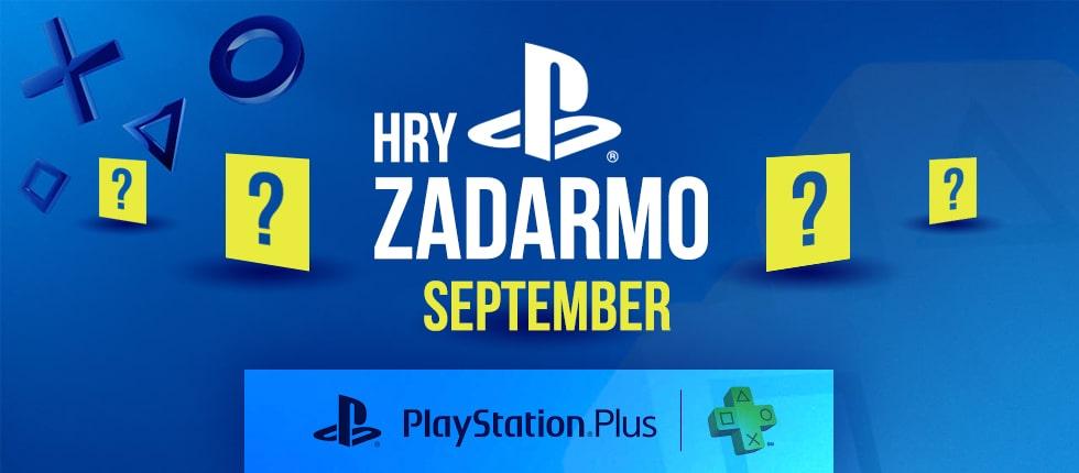PS Plus Septembrové hry zadarmo