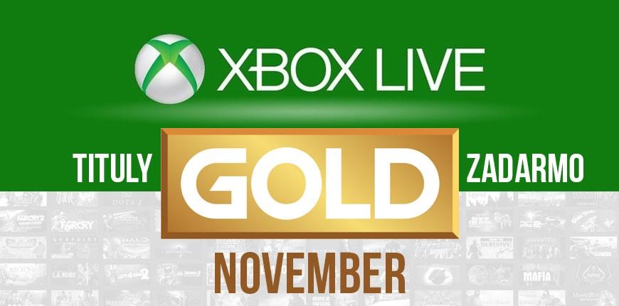 Novembrové hry s Xbox Live Gold