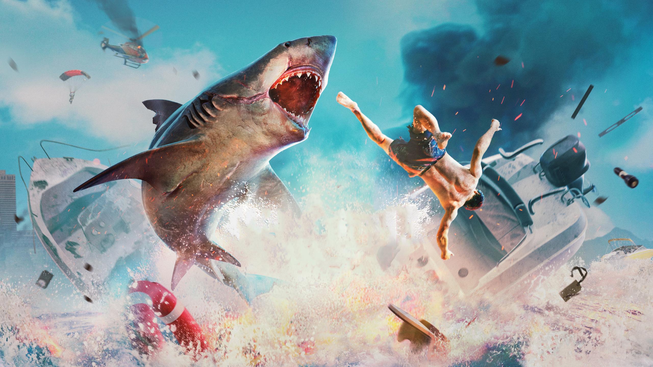 Zahrajte si za krvilačného žraloka...