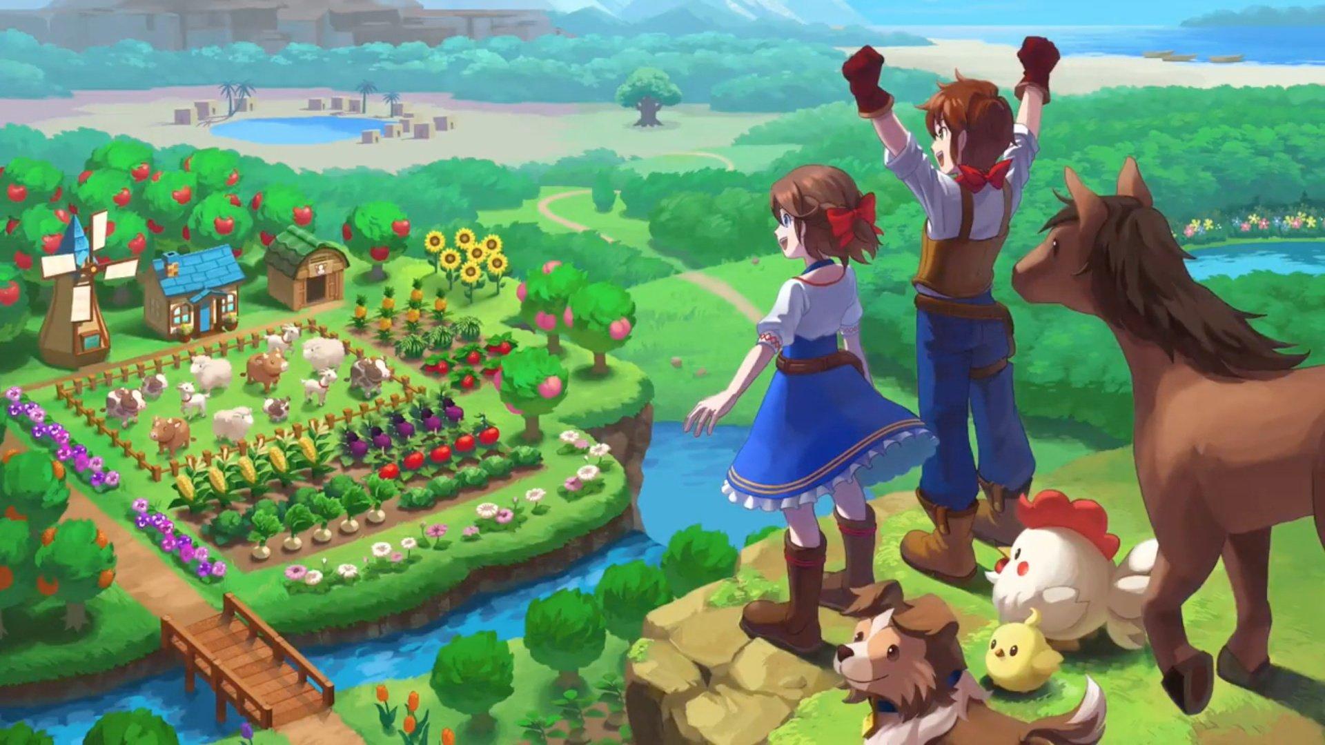 Farmárske RPG, Harvest Moon