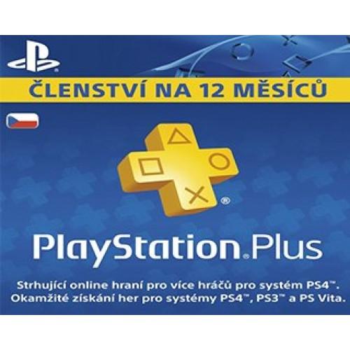 PlayStation Plus 365 dní CZ