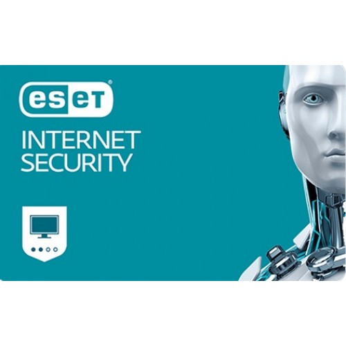 ESET Internet Security 3 lic. 12 mes.