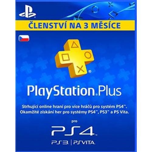 PlayStation Plus 90 dní CZ
