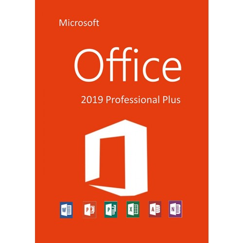 Microsoft office 2019 Professional Plus all lang.