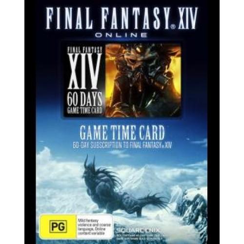 Final Fantasy XIV A Realm Reborn 60 Dní predplatená karta